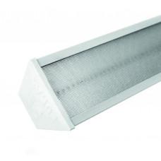 Светильник светодиодный FL1500 4х30д 0,6A 75Вт 5000К микропризма