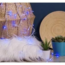 """Гирлянда """"Игла"""", 5 м, LED-50-220V, 8 режимов, свечение синее"""