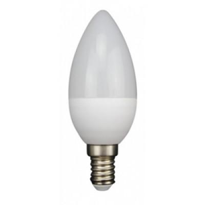 Лампа светодиодная E14 СВЕЧА 8W 630Лм 3000К Тепло-белая LEEK