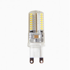 Лампа светодиодная G9 5W, 220V, 480Лм, 4000K LEEK