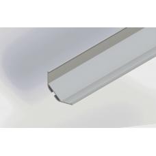 СПУ3030 светодиодный профиль угловой, алюминиевый анодированный 2000х30х30мм