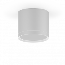 LED светильник накладной с рассеивателем HD024 10W (белый) 4100K 88х75мм