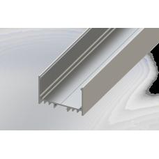 СПС5032 светодиодный профиль накладной алюминиевый, анодированный 2000х50х32мм