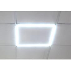 Светодиодная панель-рамка Gauss 40Вт, 3200Лм, 6500К, 595х595х11мм