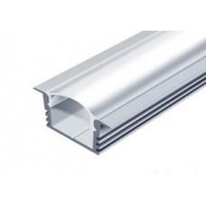 СПВ16-2212 (ЛПВ12) светодиодный профиль врезной, алюминиевый, анодированный 2000х22х12мм