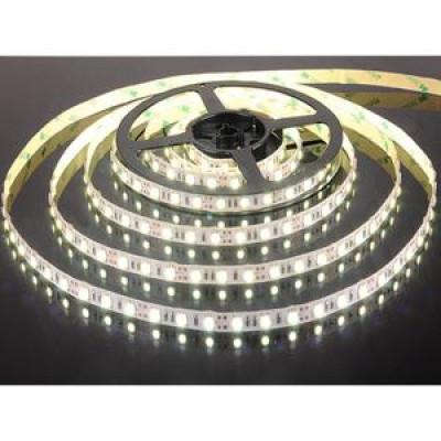 Лента светодиодная стандарт (IP65) SMD 5050, 60 LED/м, 14,4 Вт/м, 12В. Цвет: Холодный белый SWG