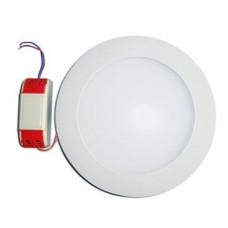 Светильник встраиваемый КРУГ 6Вт, 420Лм, 4000К, D120мм (врез 100мм) ЭРА