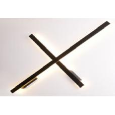 LED светильник настенный LWA0168S-BL-WW Черный 20Вт 3000