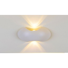 LED светильник настенный LWA0121A-WH-WW Белый 2*3Вт 3000