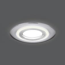 Светильник Gauss Backlight BL140 Кругл. Хром. Gu5.3, 3W, LED 4000K