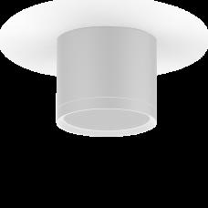 LED светильник накладной с рассеивателем HD025 10W (белый) 3000K 88х75мм
