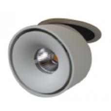 Светильник потолочный светодиодный встраиваемый поворотный T003112-KZ-12-WH-NW 12Вт 4000К