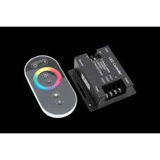 Контроллер RGB 24А, 288/576Вт, 12/24V TOUCH DELUCE черный