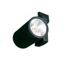 Трековый светодиодный светильник FТ 91 40W 3600Лм 3000K угол 60 черный