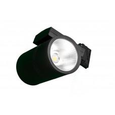 Трековый светодиодный светильник FТ 91 30W 2700Лм 3000K угол 60 черный