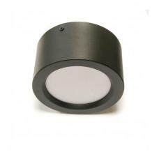 Светильник накладной алюм. (бочонок) 15W 4200К 1050Лм IP20 H75*D180 Черный HOROZ