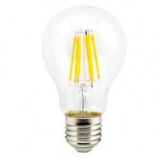 Светодиодная филаментная лампа E27 Груша - 10W, 800Лм, 4200К Дневная белая Horoz El