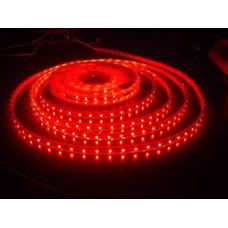 Лента светодиодная (IP65) SMD2835 - 60led/4,8Вт на метр 12В красная LS