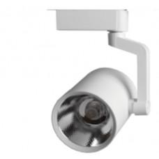 Трековый светодиодный светильник TL55,  7Вт, 4000К, 550Лм, 24°, φ53*H87 белый