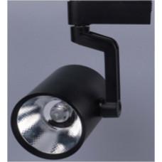 Трековый светодиодный светильник TL55,  7Вт, 4000К, 550Лм, 24°, φ53*H87 черный