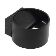 Светильник настенный  Sisam 8W 4200К черный