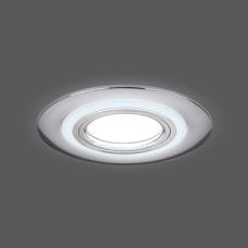 Светильник Gauss Backlight BL141 Кругл. Хром. Gu5.3, 3W, LED 3000K