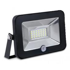 Прожектор светодиодный с датчиком движения СДО-5Д-10 10Вт 230В 6500К 750Лм IP65 LLT