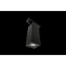 Трековый  LED светильник  квадратный черный 3000К LDT-SQBL-10W-WW (LD-3023)