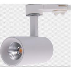 Трековый светильник  Белый 7  4000 UM-6045W-7-WW