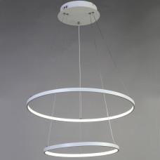 Подвесной светильник Favourite Giro 1765-10P белый,LEDx1*80W