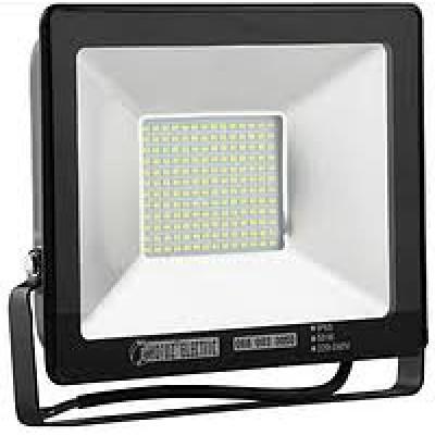Прожектор светодиодный HL176L 200W 2700K Черный