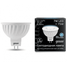 Лампа Gauss LED MR16 GU5.3 7W 630lm 4100K