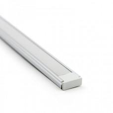 Профиль алюминиевый накладной П-образный SF - 1506 2000x15x6 (Комплект)
