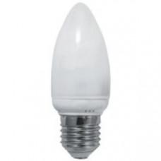 Лампа светодиодная E27 СВЕЧА 8W, 640Лм, 3000K Тепло-белая LEEK