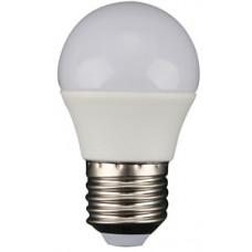 Лампа светодиодная E27 ШАР 6W, 470Лм, 3000K Тепло-белая LEEK