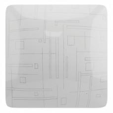Светильник светодиодный накладной СЛЛ 017 Роса 30Вт 2100Лм, 6000К 365*365*85мм LEEK