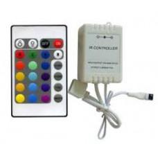 Контроллер LED RGB ИФК 6А 72W 12V/24V 24 кнопки