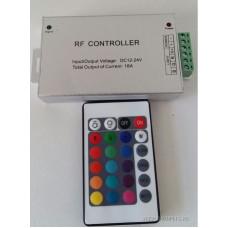 Контроллер LED RGB 18А 216/432W 12V/24V 20 кнопок
