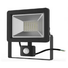 Прожектор с датчиком движения Gauss el 20Вт 1380lm IP65 6500K
