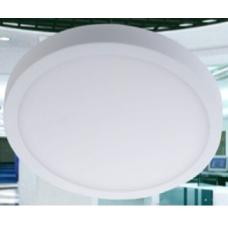 Светильник потолочный светодиодный накладной, серия DL-SPL, Белый, 18Вт, IP20, Теплый белый (3000К)