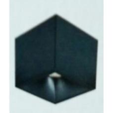 Светильник потолочный светодиодный накладной, серия DL-SPL, Черный, 18Вт, IP20, Теплый белый (3000К)