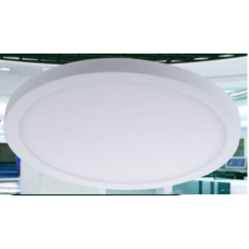 Светильник потолочный светодиодный, серия DL-KH, Белый, 15Вт, IP33, Нейтральный белый (4000К)
