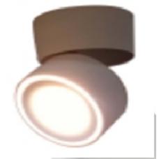 Светильник потолочный светодиодный накладной, серия WL, Черный, 12Вт, IP20, Теплый белый(3000К)