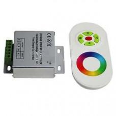 Контроллер сенсорный RGB 18 А, 216-432вт, 12-24 V БЕЛЫЙ