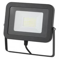 Прожектор светодиодный LPR-30-6500К ЭКО SMD Eco Slim - 30Вт Черный ЭРА