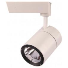 Трековый светодиодный светильник 30W 2400lm 4000K 35 градусов черный  AL103