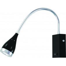 Светильник светодиодный для подсветки зеркал  HL003L - 3Вт  4000К,Черный, Horoz El.