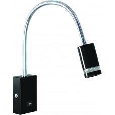 Светильник светодиодный для подсветки зеркал  HL008L - 3Вт  4000К,Черный, Horoz El.