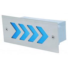 Светильник светодиодный лестничный  HL948L 1.6Вт Голубой