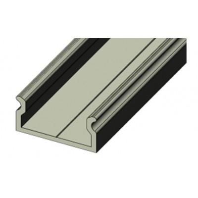 СПН1607 (ЛП-7) светодиодный профиль накладной, алюминиевый, анодированный 2000х16х7мм